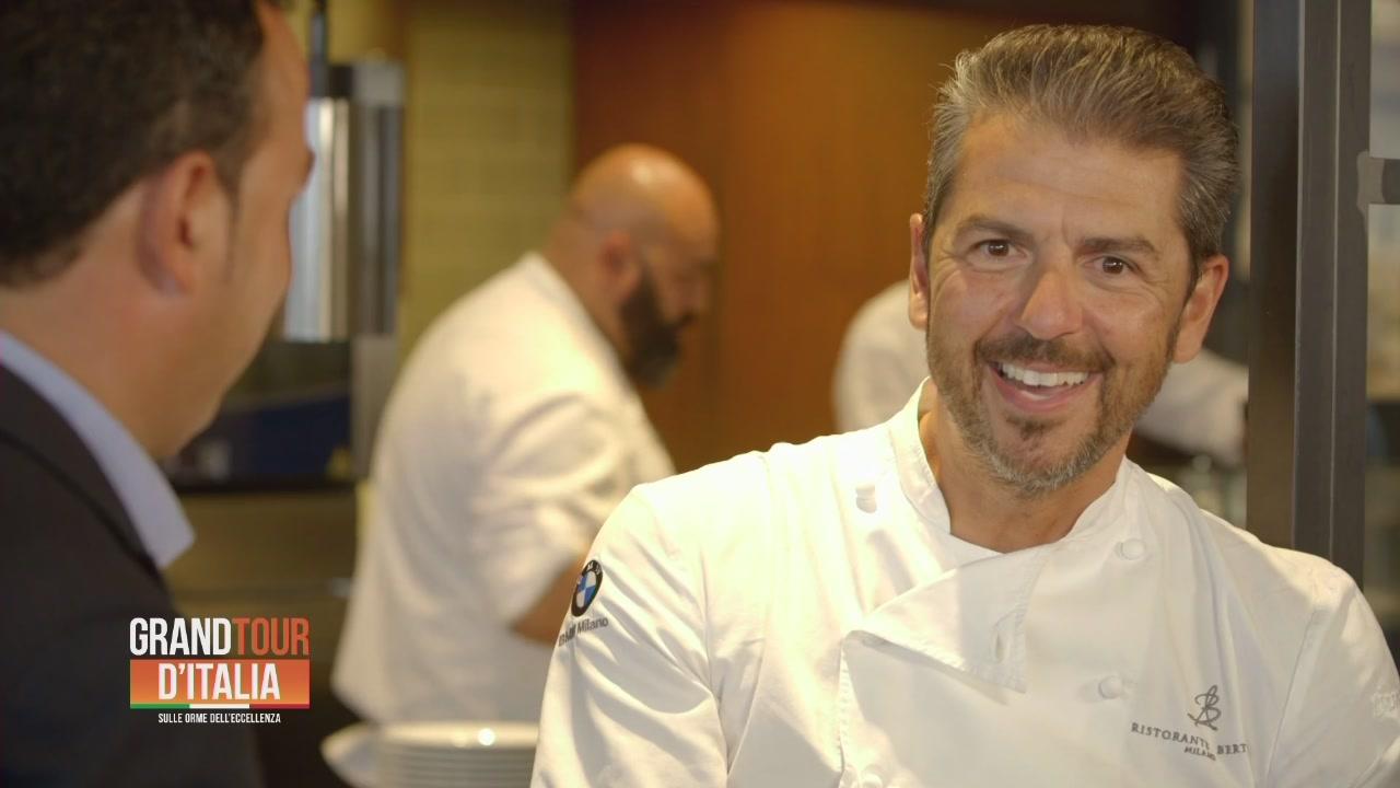 Andrea Berton, chef friulano