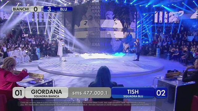 Giordana Vs Tish – Il guanto di sfida – Quarta puntata Serale – Prima manche
