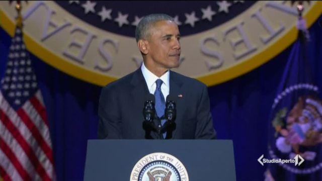 L'ultimo saluto di Obama