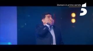 Diego Armando Maradona ad #Amici17