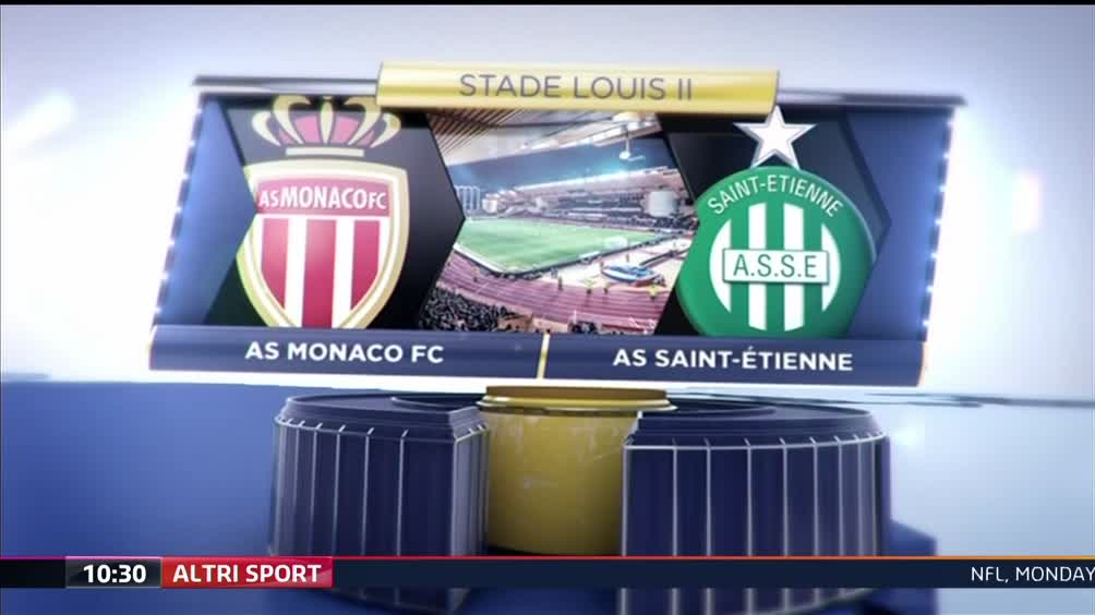 AS Monaco FC - AS Saint-Etienne 1-0