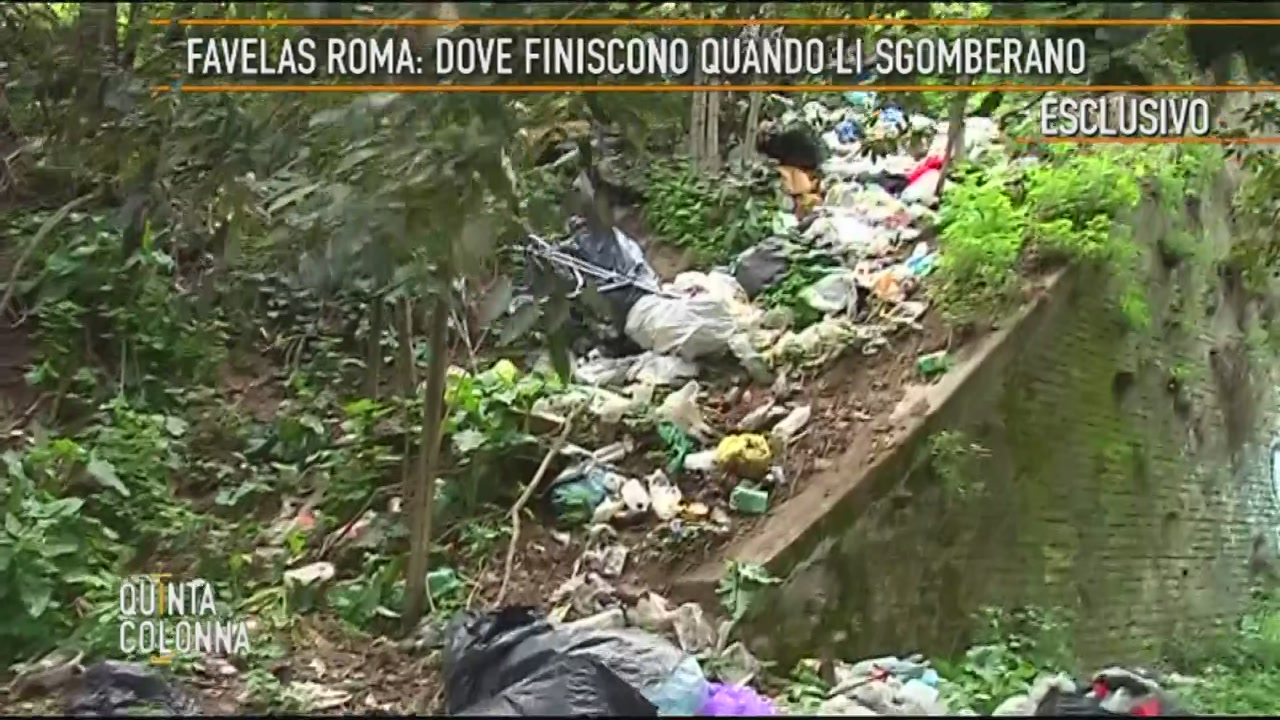 Le favelas di Roma