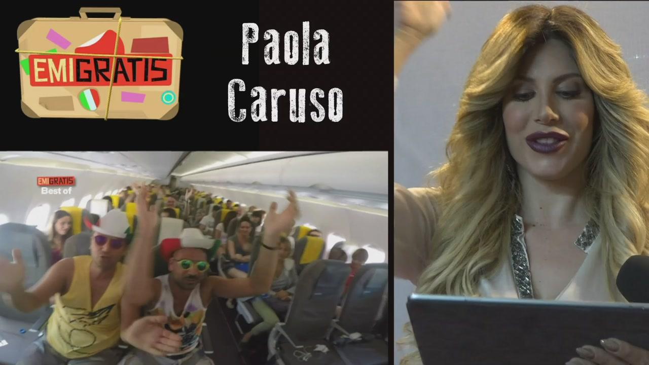 Paola Caruso ed Emigratis