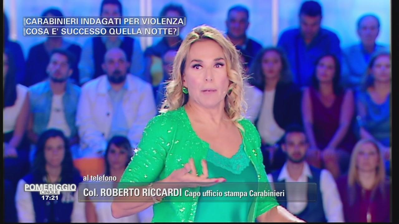 Col. Roberto Riccardi - Capo Ufficio stampa Carabinieri