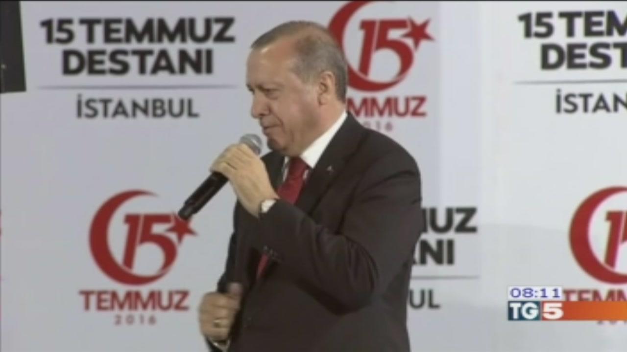Turchia, da Erdogan minacce agli oppositori