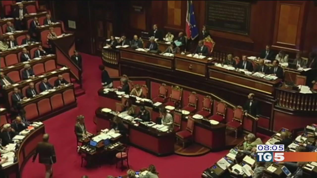 Legge elettorale oggi in aula al Senato