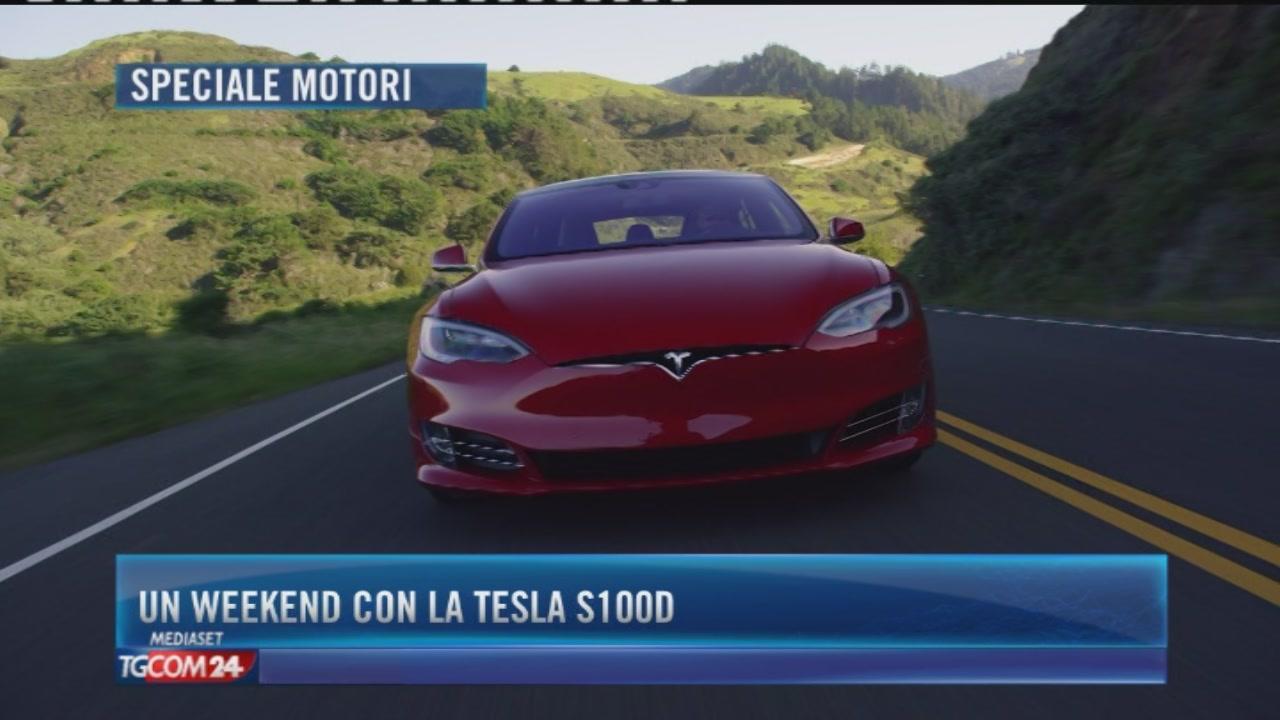 Un weekend con la Tesla S100D