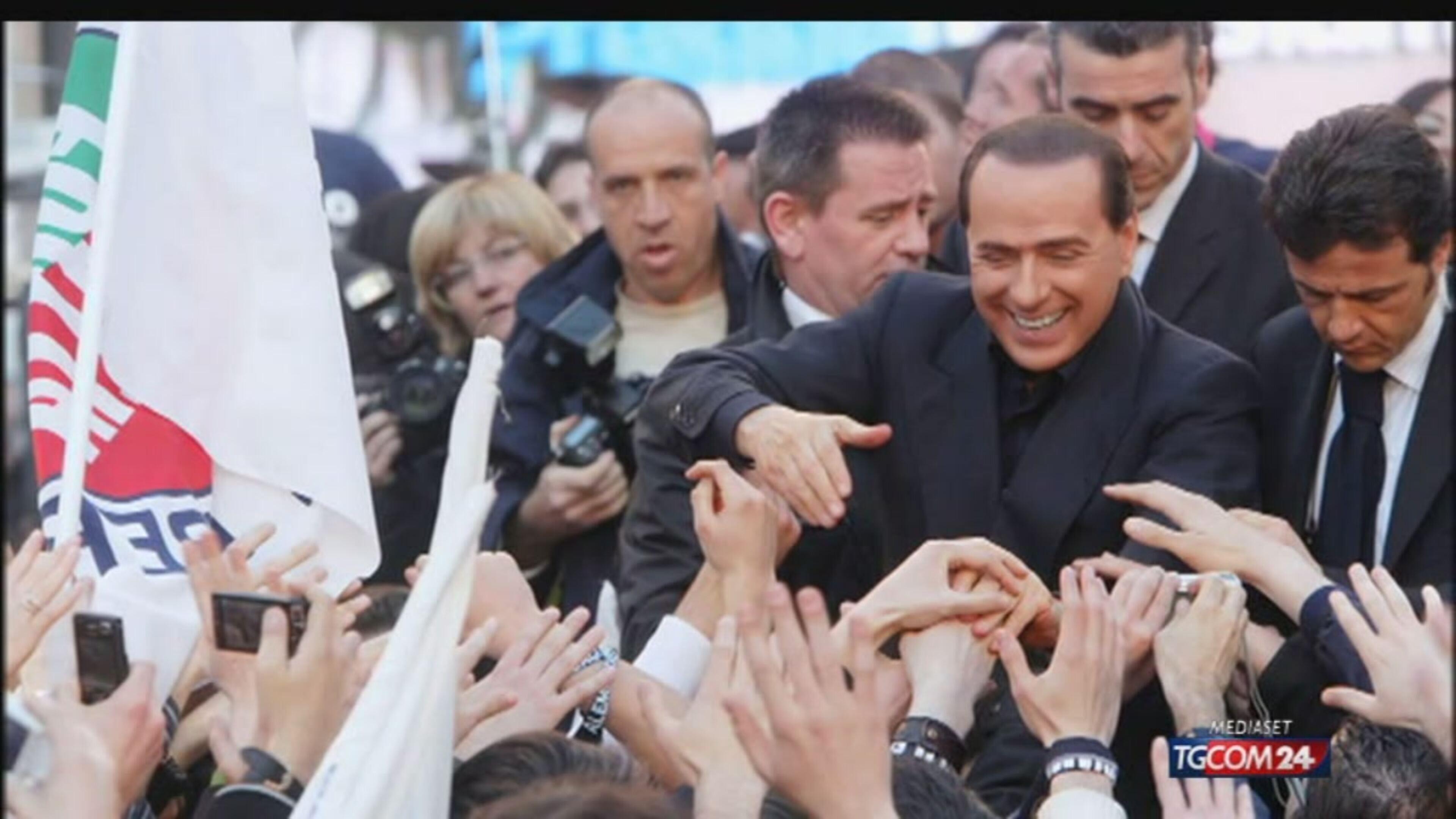 Berlusconi, l'intervento alla festa di Toti