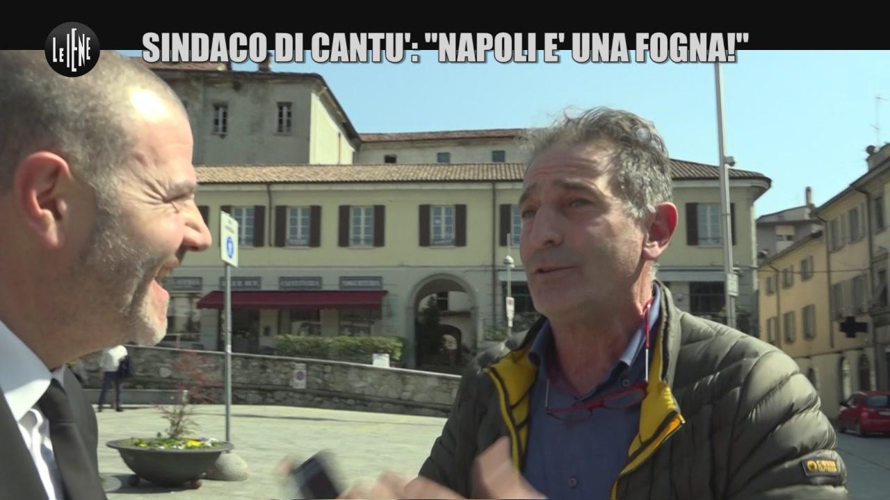 """GOLIA: Sindaco di Cantù: """"Napoli è una fogna!"""""""