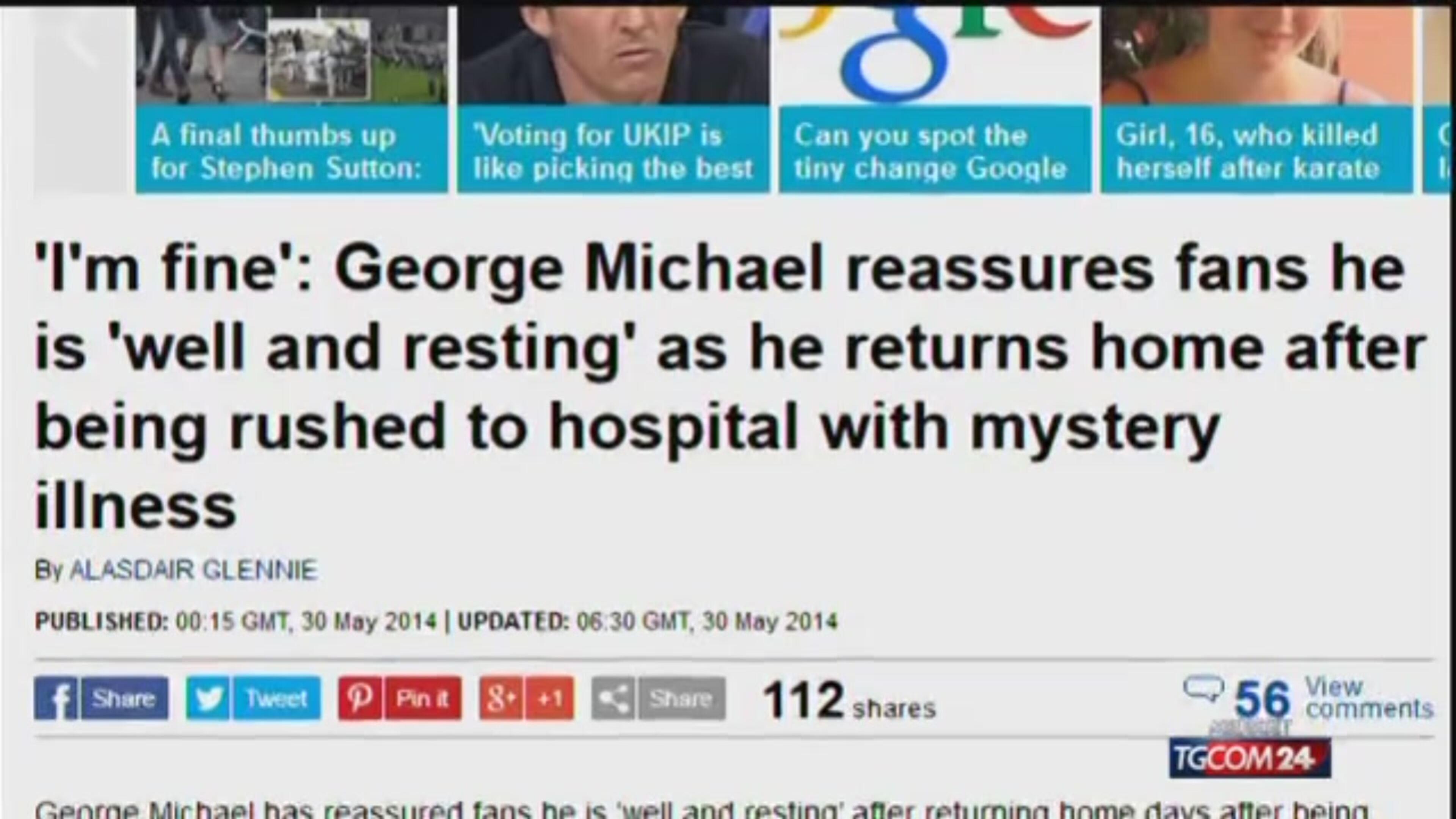 Ansia per George Michael