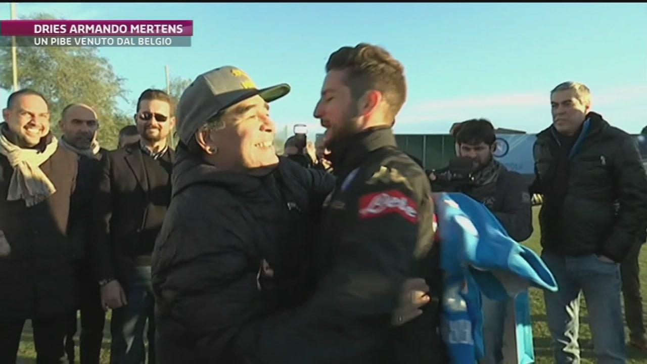 Mertens come Maradona