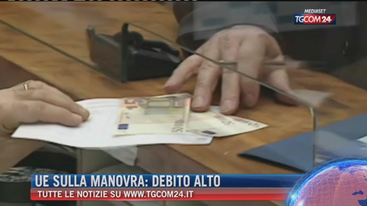 Breaking news delle ore 21.30, Ue sulla manovra: debito alto