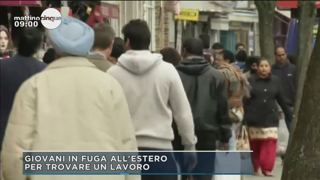 I giovani fuggono dall'Italia