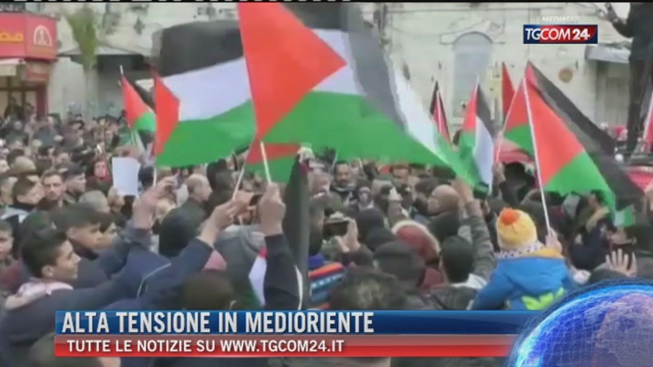 Breaking News delle 21.30: Alta tensione in Medioriente