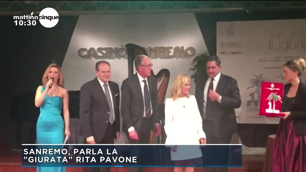 Sanremo, la commozione di Rita Pavone