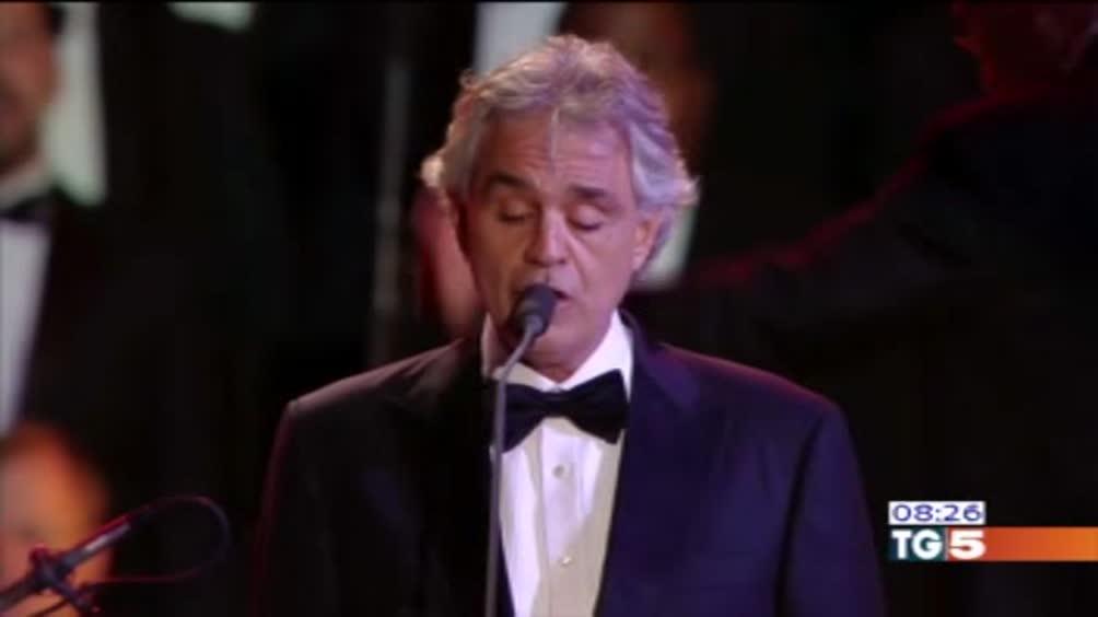 Andrea Bocelli non si esibirà per Donald Trump