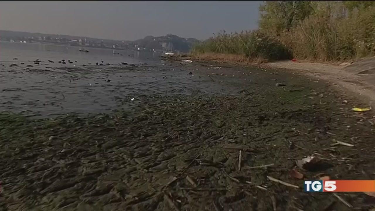 Una siccità senza fine, grandi laghi in secca