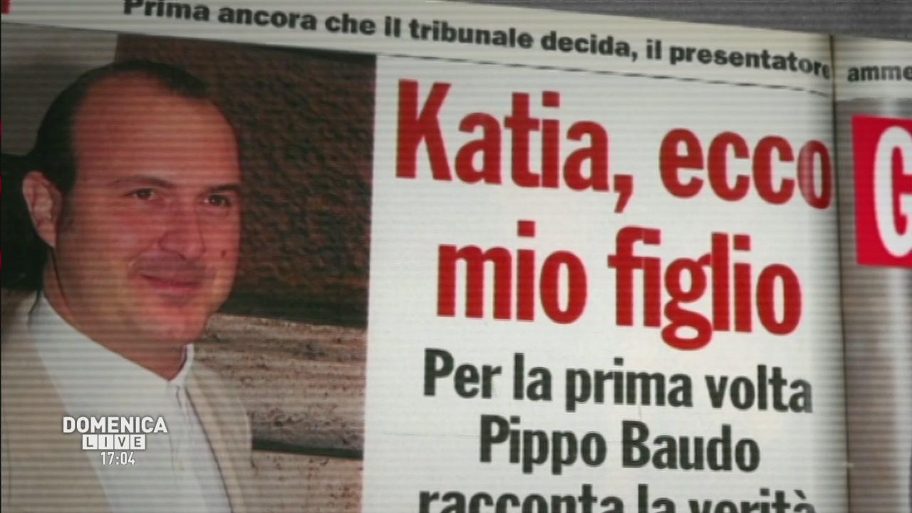 La copertina: Il figlio segreto di Pippo Baudo