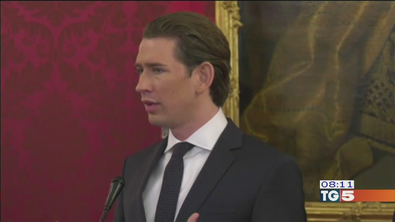 Austria più a destra con i nuovi ministri