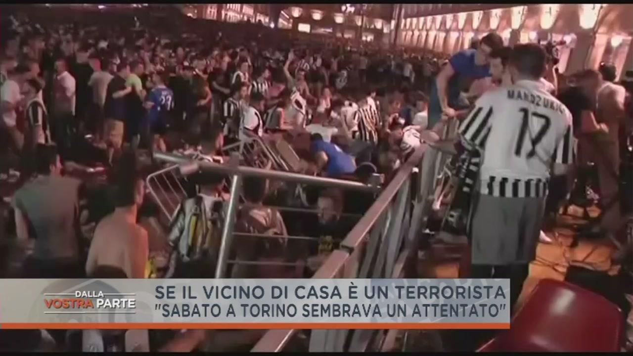 Il terrore a Piazza San Carlo