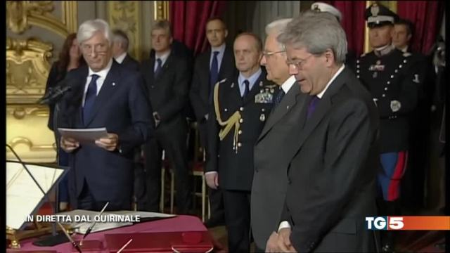 Nasce governo Gentiloni, molte conferme 5 novità