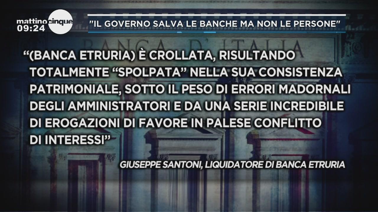 Banca Etruria, chi pagherà?
