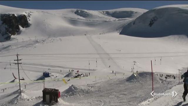 Prima neve, è già tempo di sci
