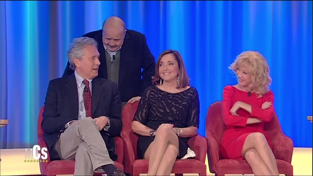Barbara Palombelli e Francesco Rutelli: il primo bacio