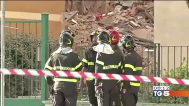 Crollo di Roma provocato dall'acqua