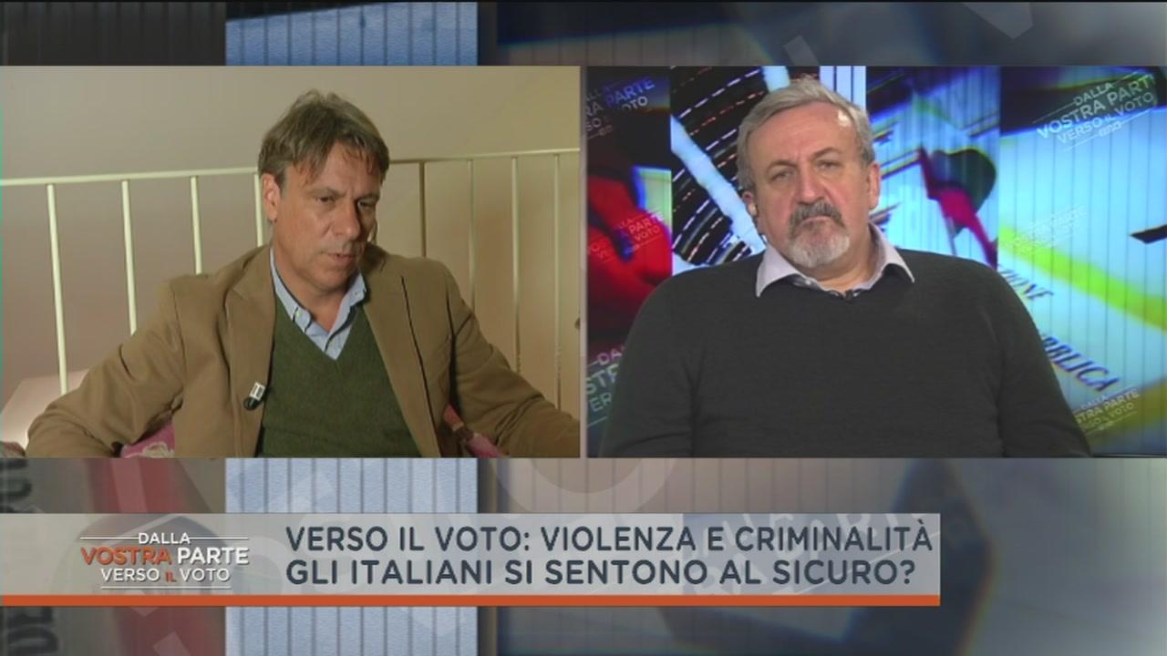 """Michele Emiliano e l'argomento """"sicurezza"""""""