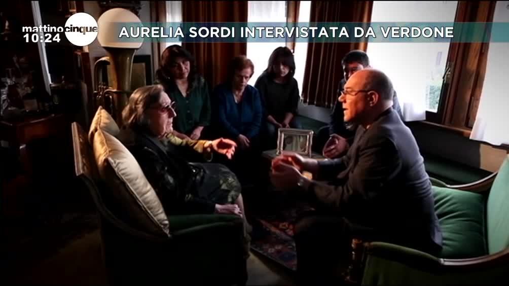 Aurelia Sordi intervistata da Verdone
