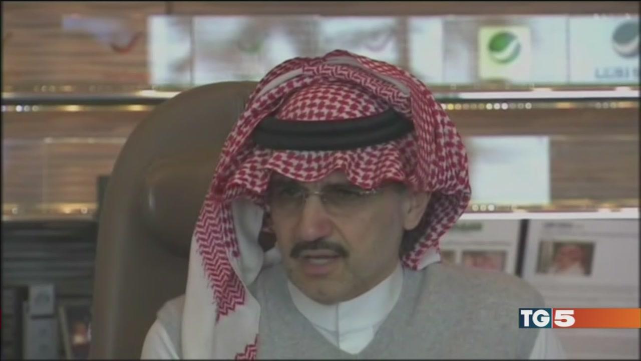 Corruzione, manette al principe Alwaleed