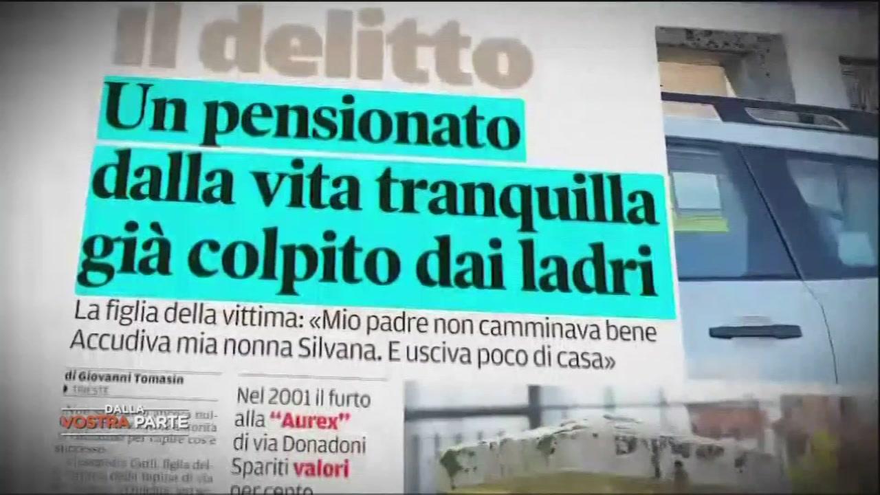 Rapina choc a Trieste