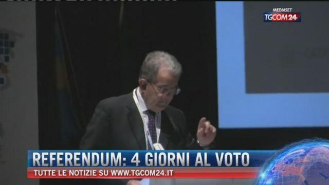 Referendum: 4 giorni al voto