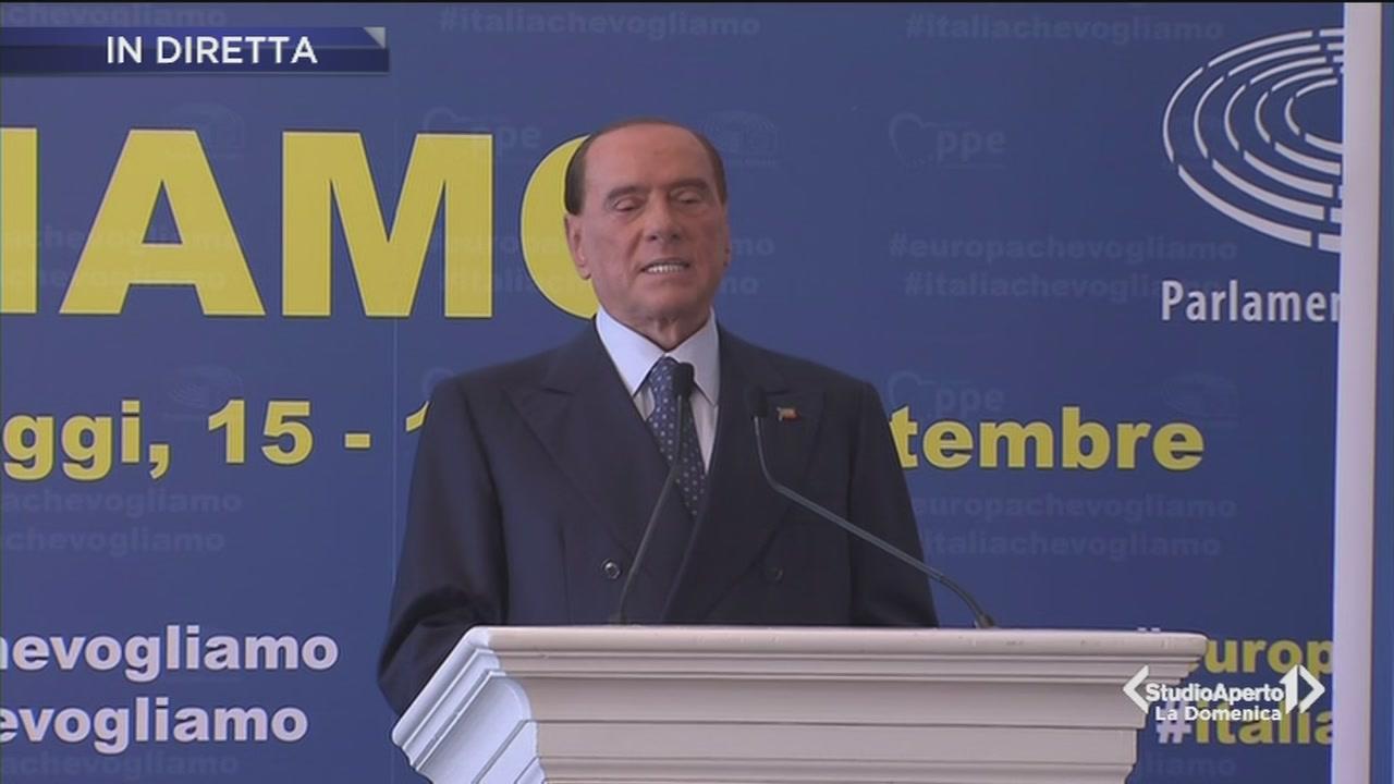 L'intervento di Silvio Berlusconi
