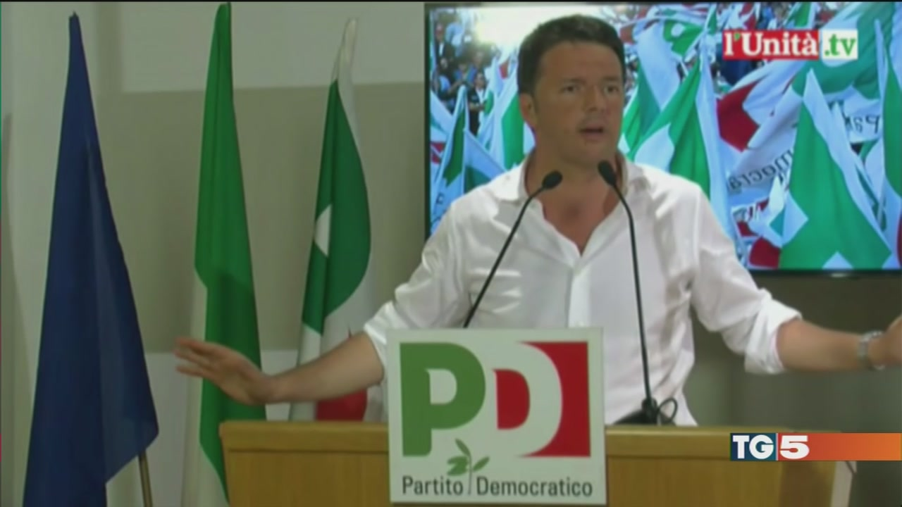 Renzi apre a sinistra ius soli torna al palo