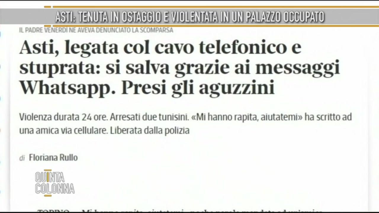Violenza ad Asti