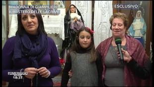 Madonna di Giampilieri - Parla la veggente Pina