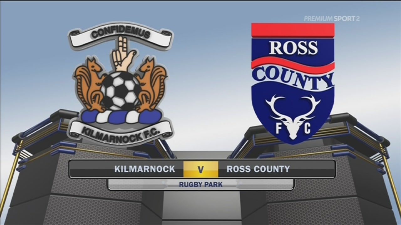Kilmarnock-Ross County 0-2