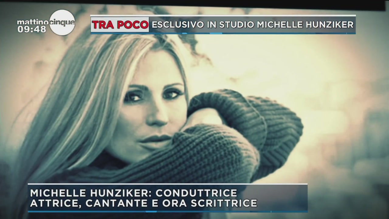 Michelle Hunziker: madre e star