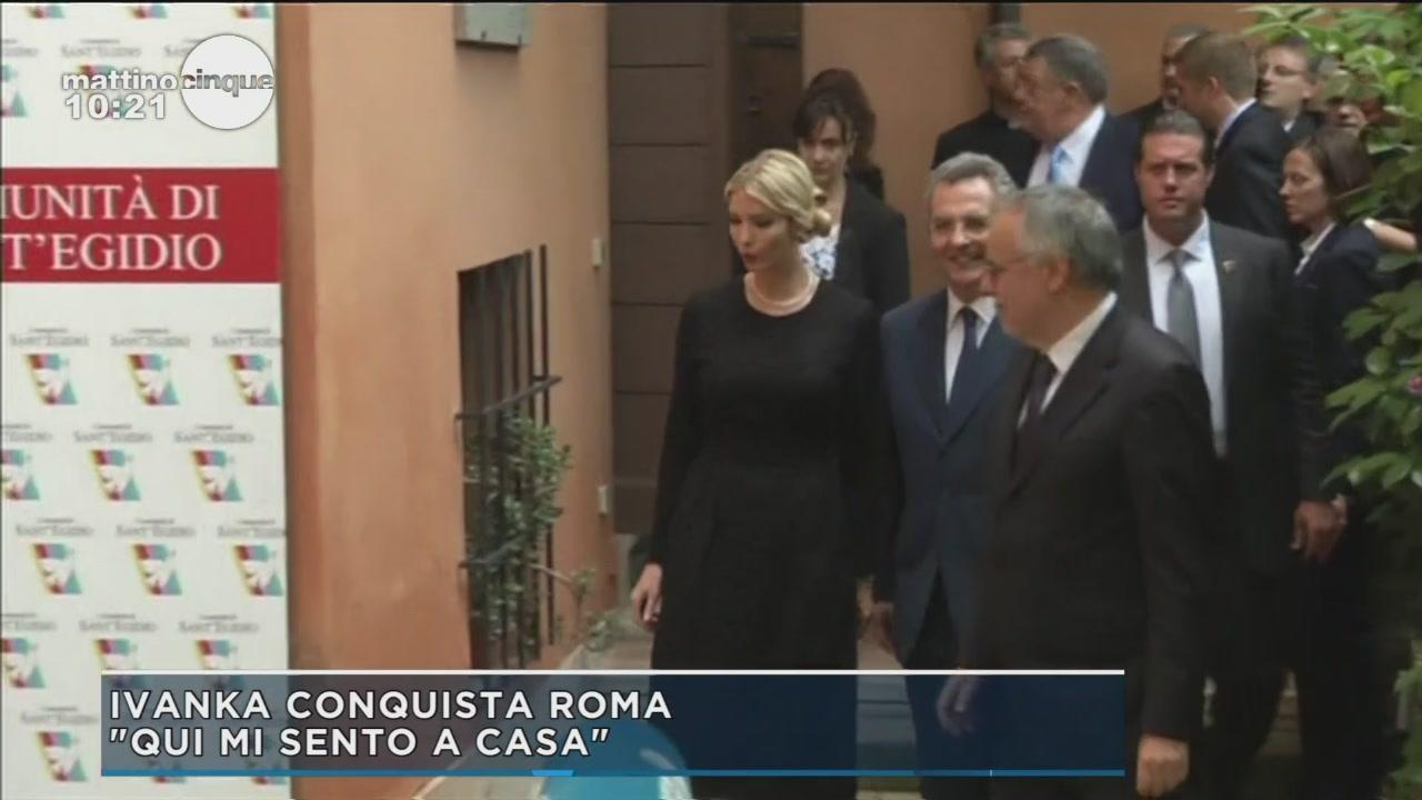 Ivanka Trump conquista Roma