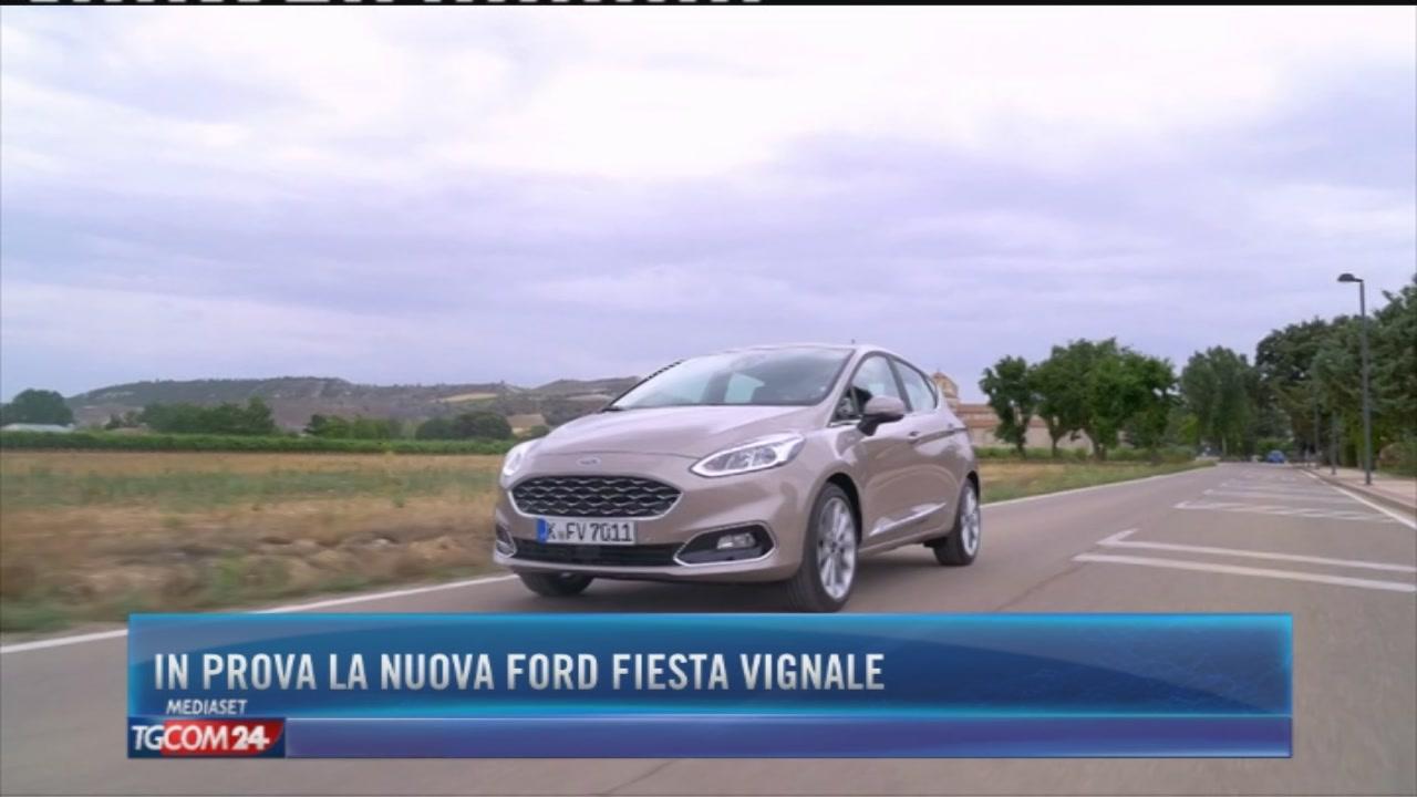 In prova la nuova Ford Fiesta Vignale