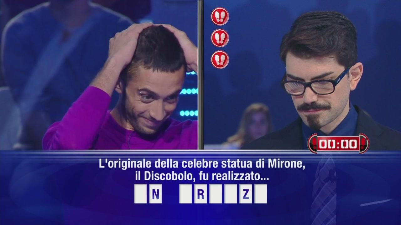 Il campione sfida Riccardo