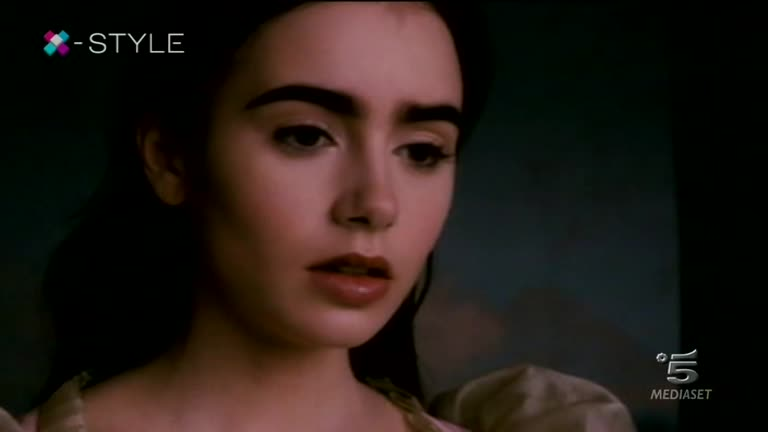 Lily Collins...