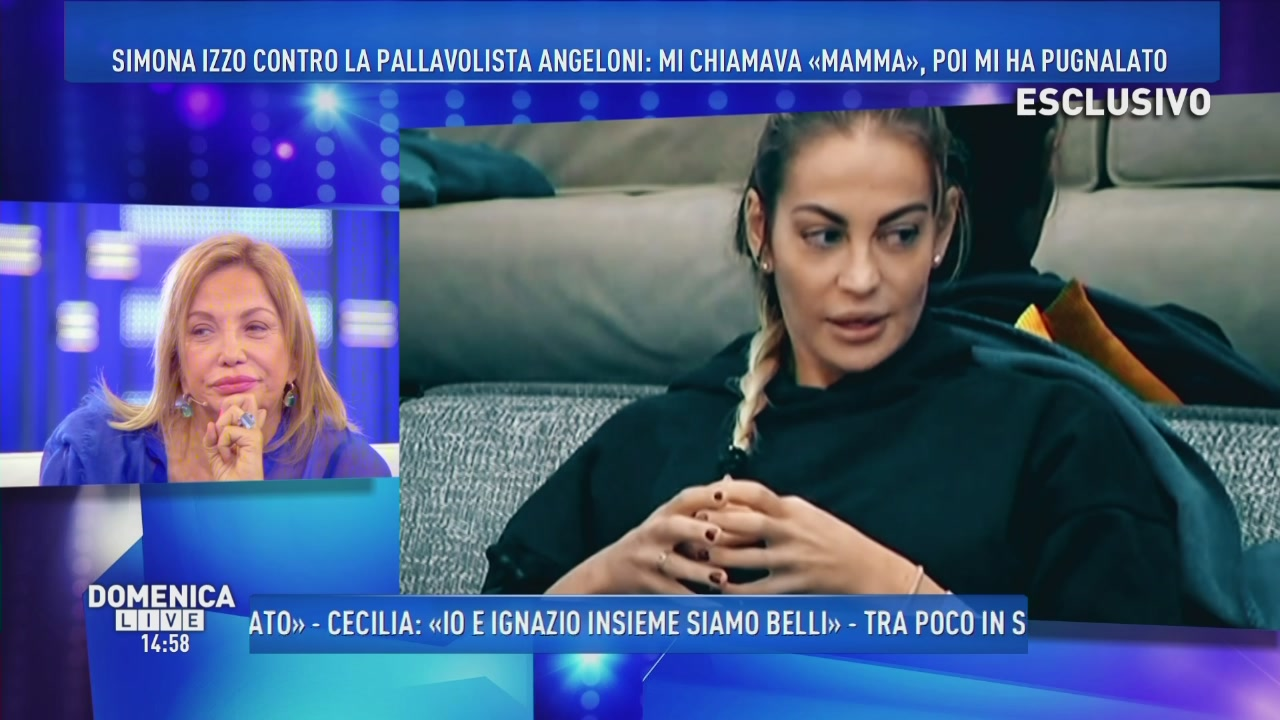 Simona Izzo contro Veronica