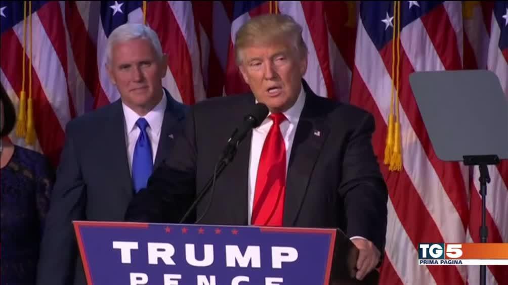 """""""Io sarò il presidente di tutti gli americani"""""""
