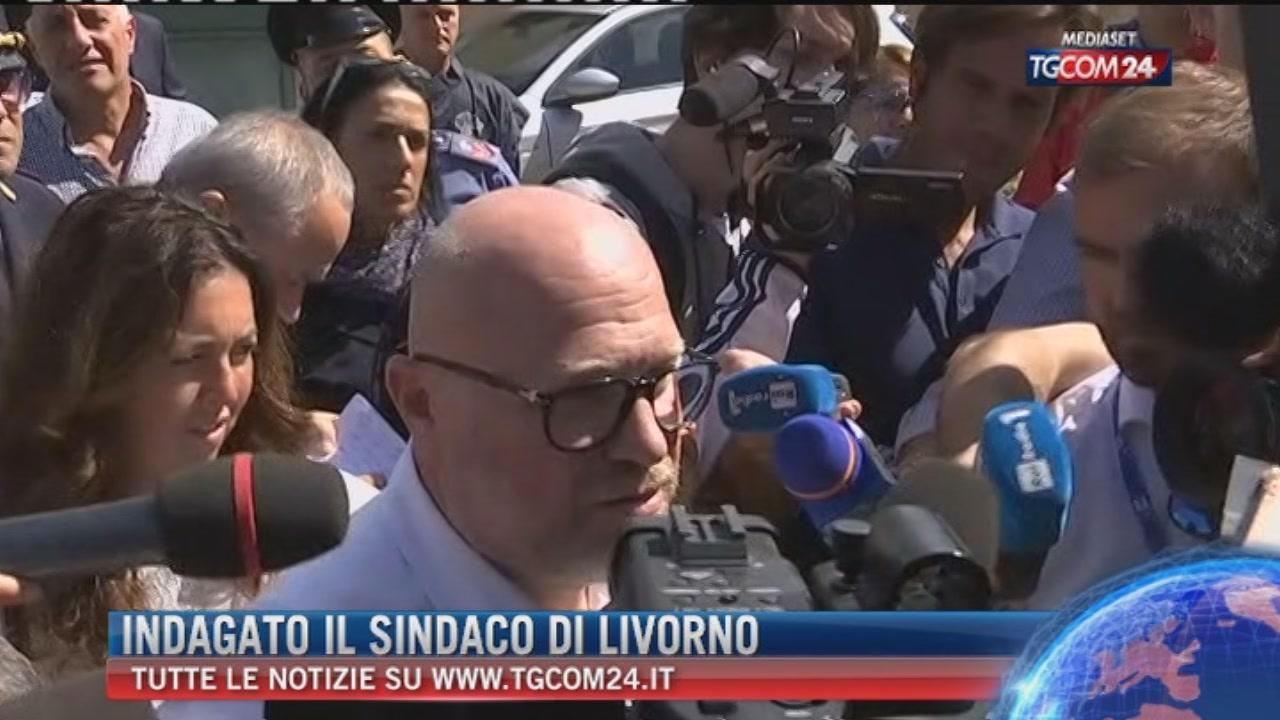 Breaking News delle ore 9.00: Indagato il sindaco di Livorno