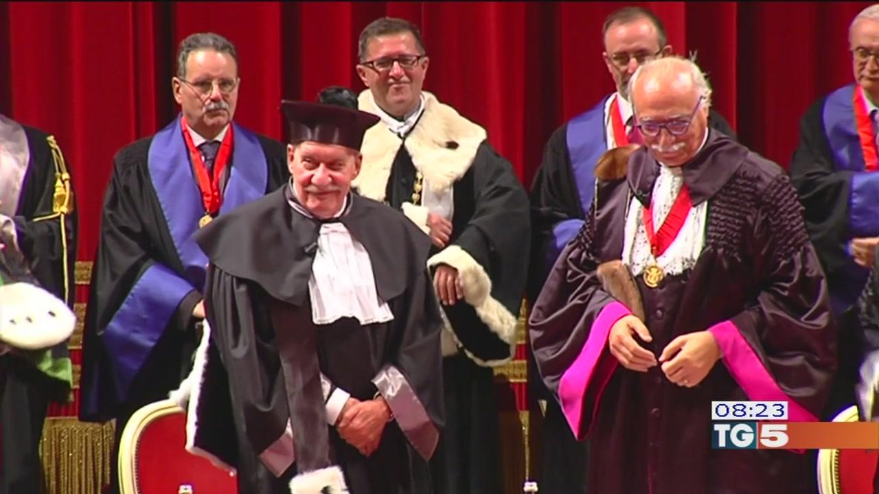 Quarta laurea per Paolo Conte