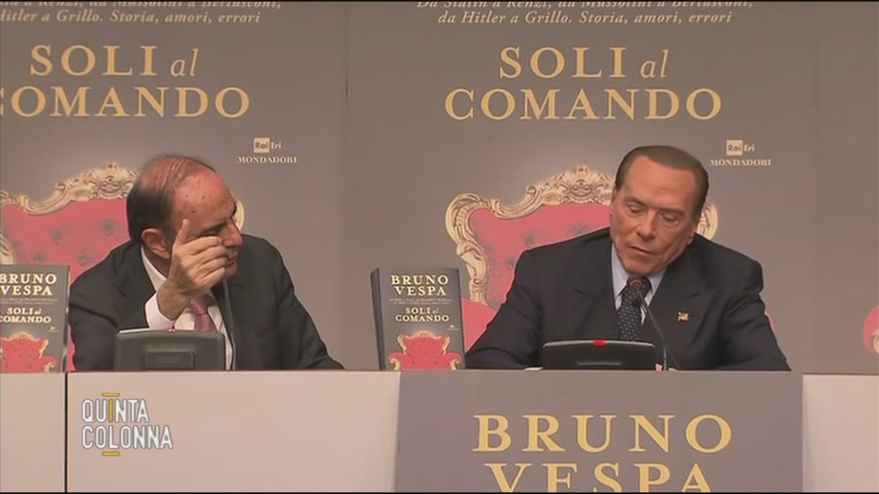 Silvio Berlusconi da Bruno Vespa