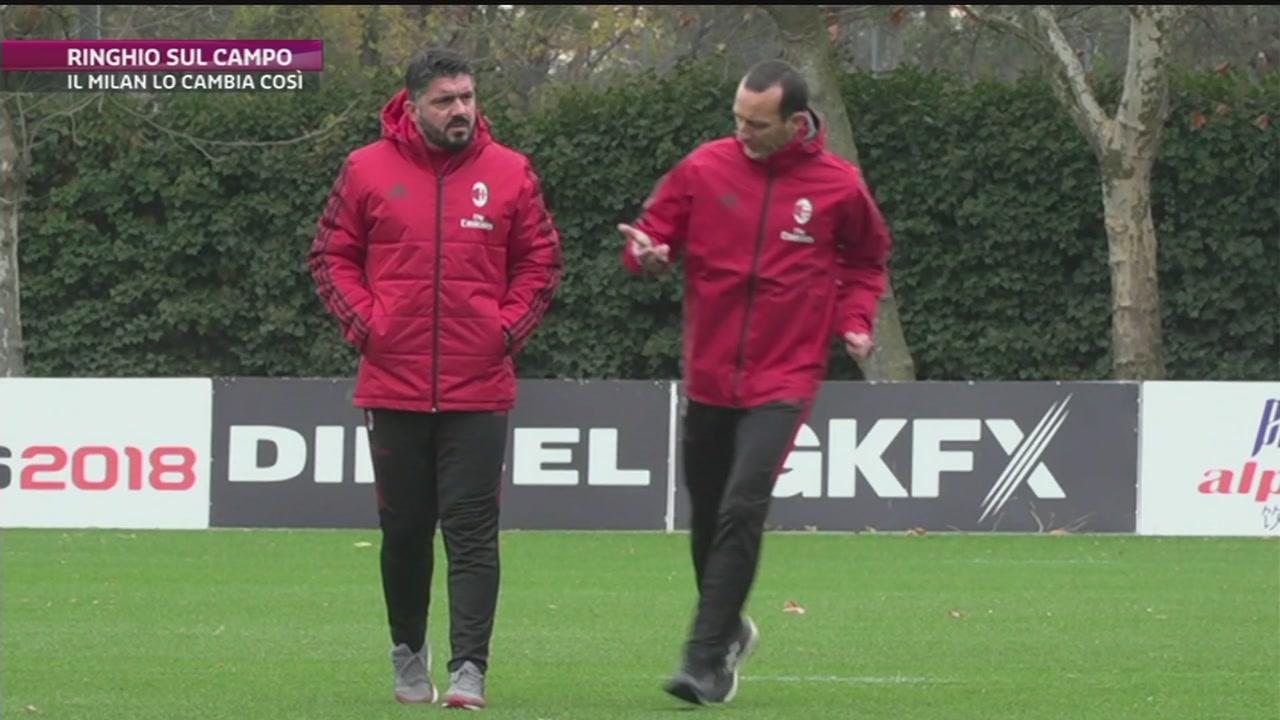 Gattuso cambia il Milan